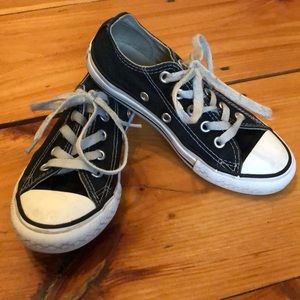 Boys black chucks